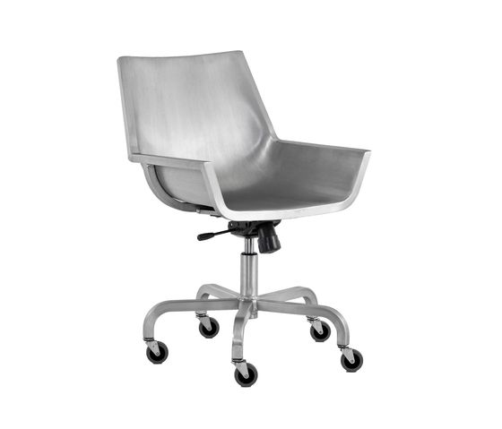 Hand Brushed,Emeco,Office Chairs,chair,furniture,line,office chair,product