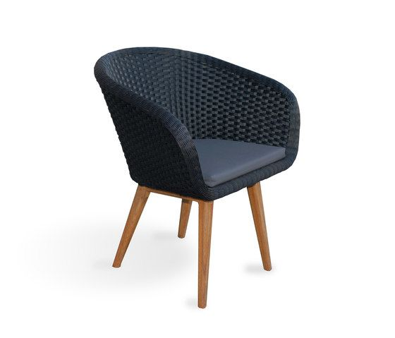 Shell Chair Teak by FueraDentro by FueraDentro