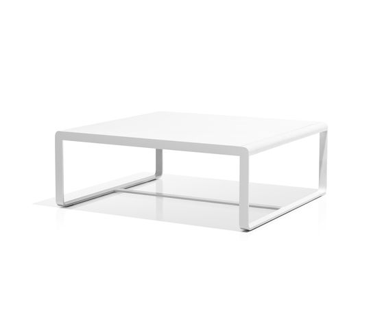Sit low table white by Bivaq by Bivaq