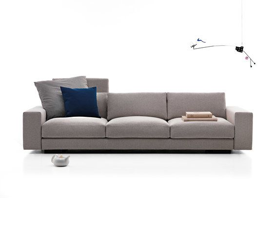 Softly Box | 3-seater sofa by Mussi Italy by Mussi Italy