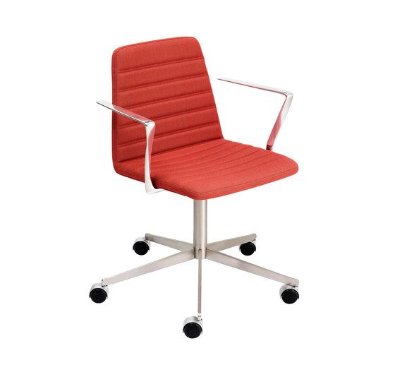 Spinal Chair 44 with castors by Paustian by Paustian