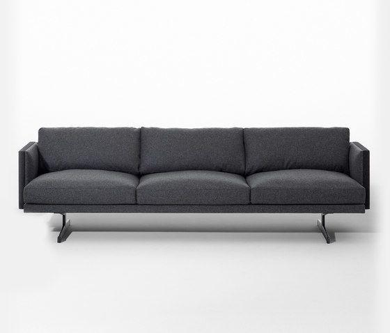 Steeve 3 seater sofa by Arper by Arper
