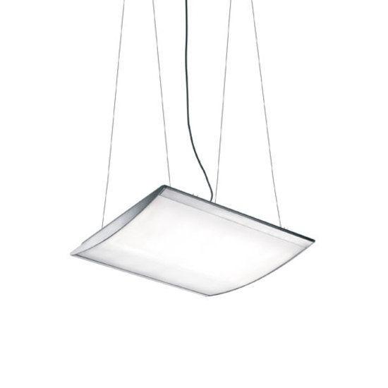 Strip suspension, 74x66.1x8.5cm, White by LUCEPLAN
