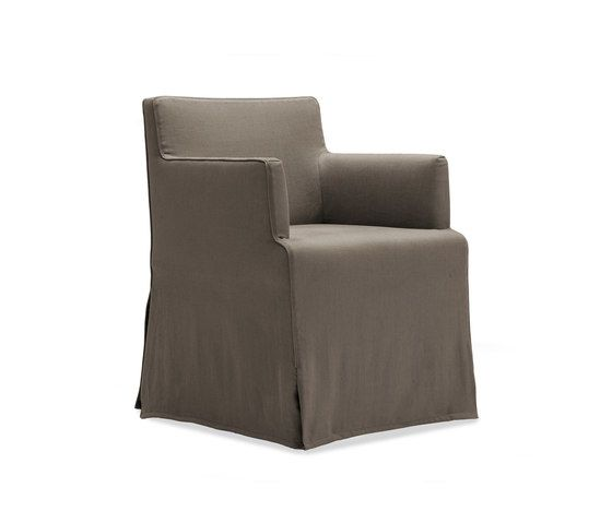 Velvet Due chair by Poliform by Poliform