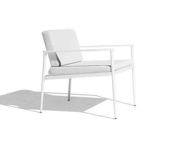 Vint low armchair by Bivaq by Bivaq