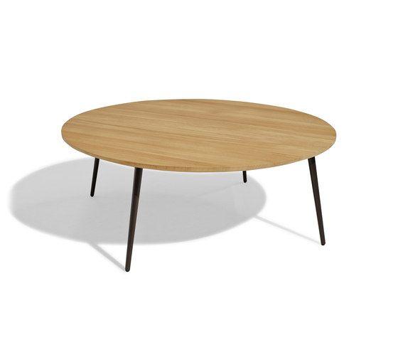 Vint low table 110 iroko by Bivaq by Bivaq