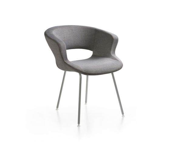 Zed 4 legs upholstered by Maxdesign by Maxdesign