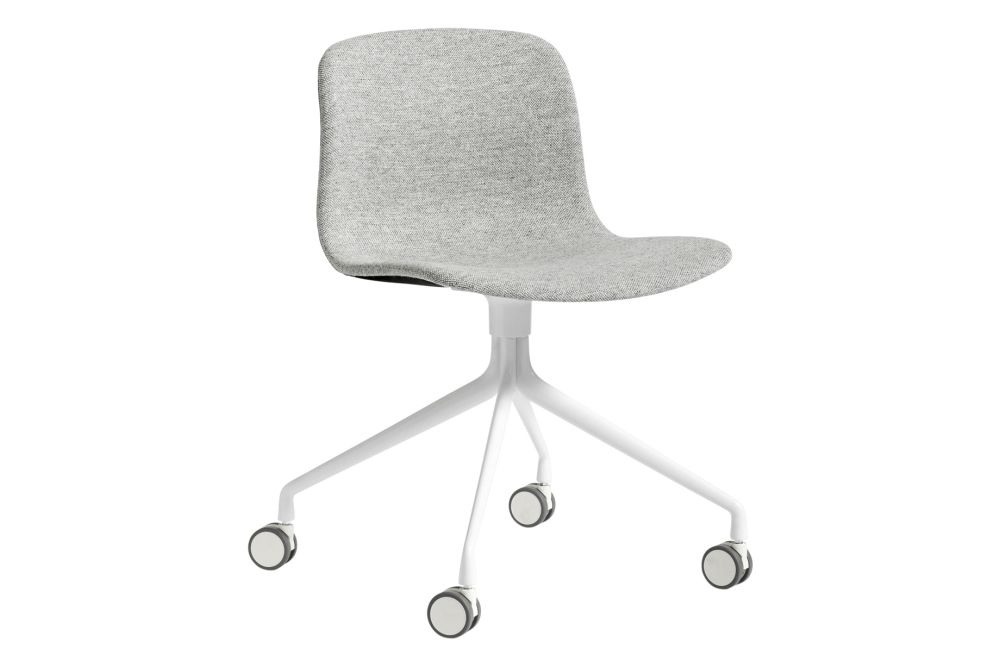 Fabric Group 4 (pg), HAY Metal Polished Aluminium (mt),Hay,Office Chairs