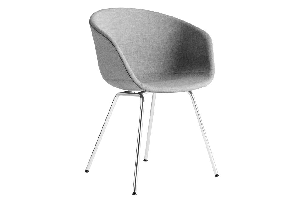 About A Chair Hay.Aac 27 Dining Chair Fabric Group 1 Metal Chromed Steel By Hay