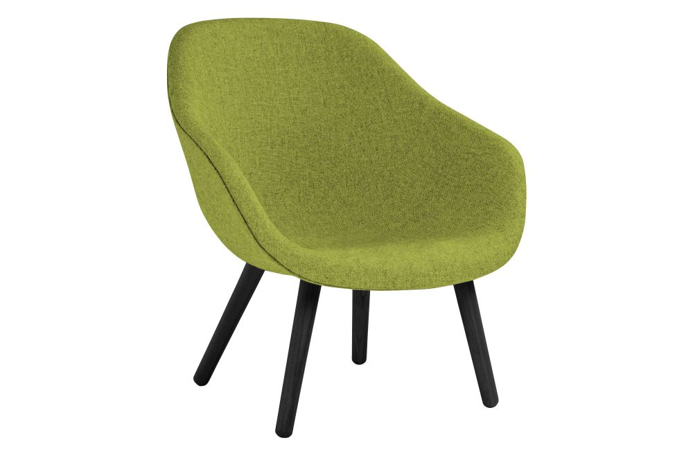 About A Lounge Chair AAL82, Black Stained Legs by Hay