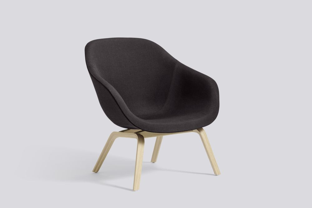 About A Lounge Chair AAL83, Matt Lacquered Oak Legs by Hay