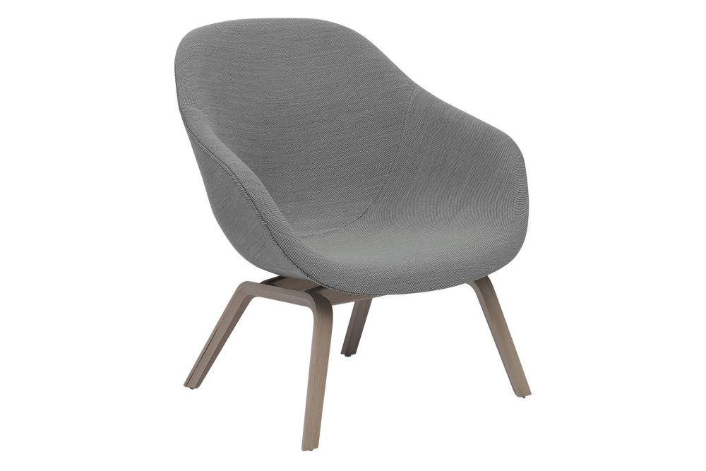 About A Lounge Chair AAL83, Soap Treated Oak Legs by Hay