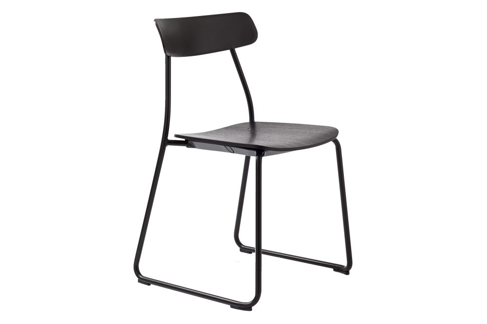 Matt Black - RAL 9005, Matt Black - RAL 9005,Orangebox,Breakout & Cafe Chairs