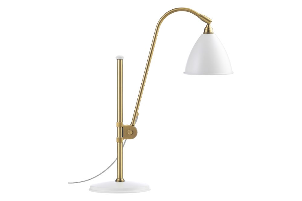 Bestlite BL1 Table Lamp Brass Base - Small by Gubi