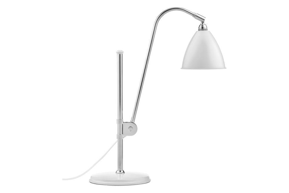 Bestlite BL1 Table Lamp Chrome Base - Small by Gubi