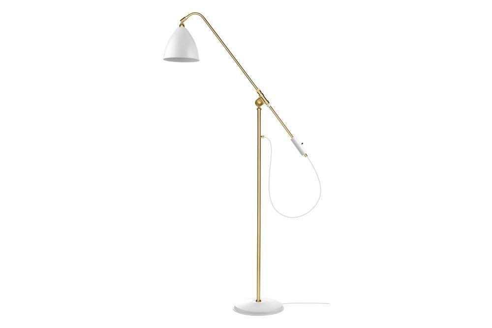 Bestlite BL4 Floor Lamp Medium - Brass Base by Gubi