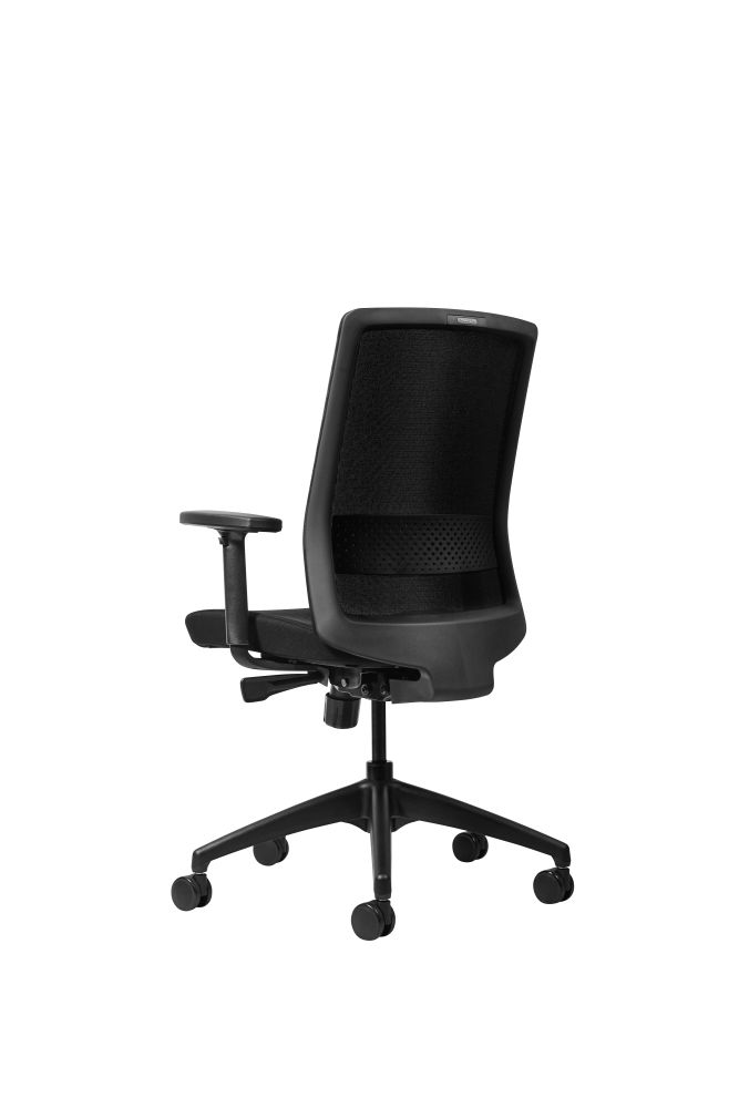 Black frame and black mesh,Workstories,Task Chairs
