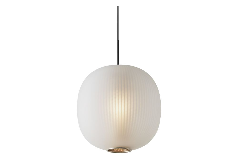 Small Frosted Black Glass,Resident,Pendant Lights