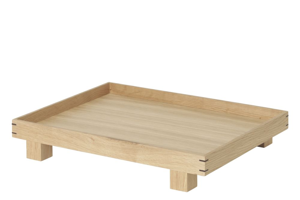 Bon Wooden Tray - Set of 4 by ferm LIVING