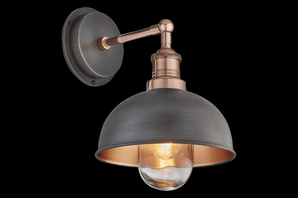 Pewter & Copper - Copper Holder,INDUSTVILLE,Wall Lights