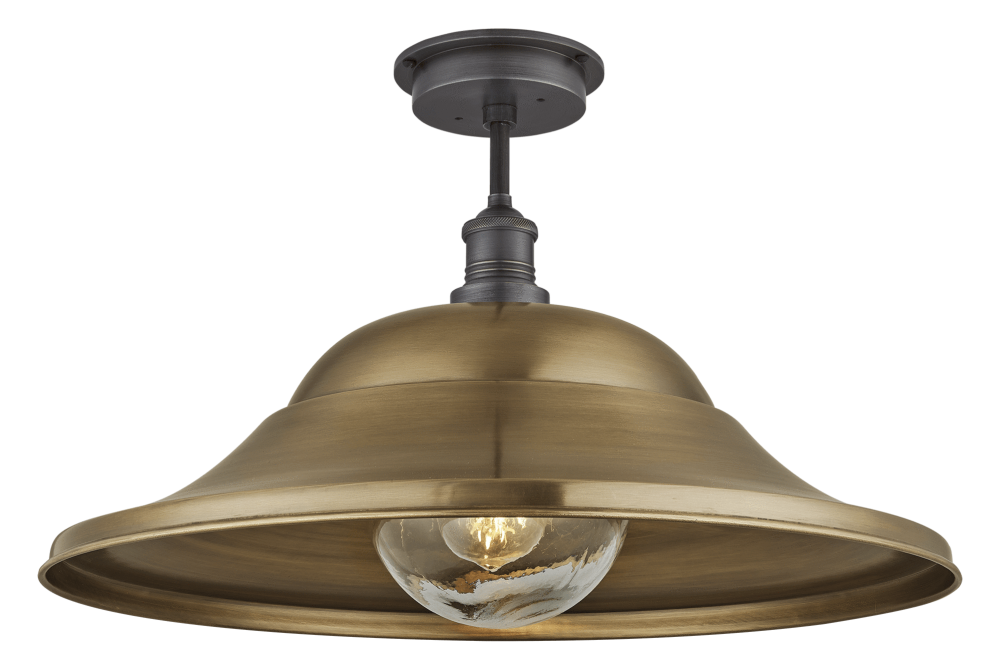 Brass mount, tube glass,INDUSTVILLE,Ceiling Lights