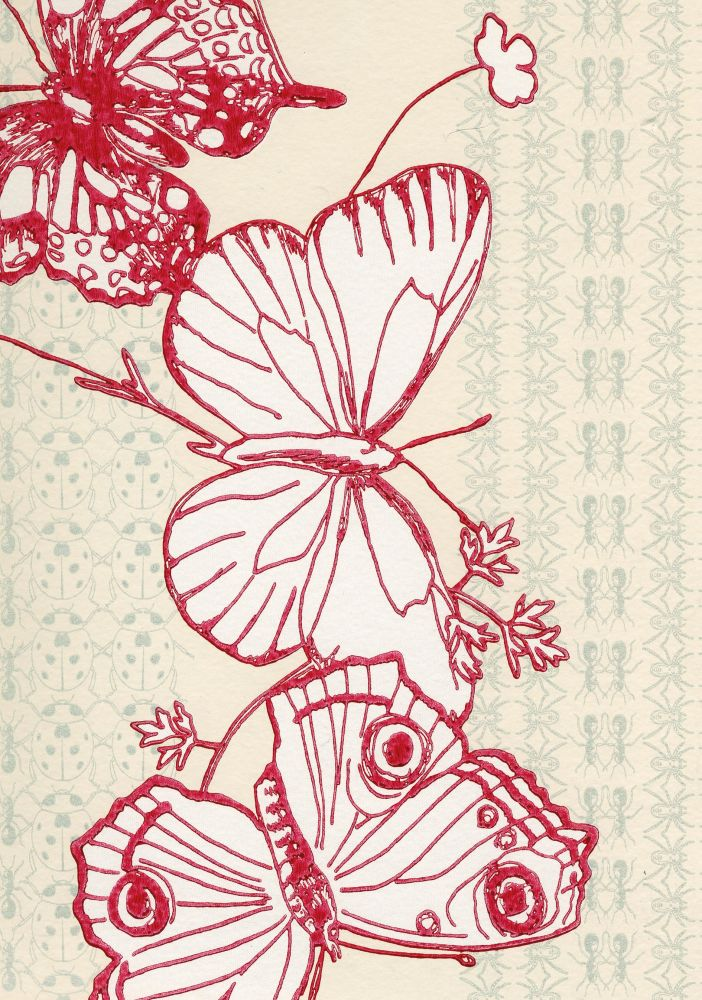 Bugs & Butterflies Wallpaper by Barneby Gates