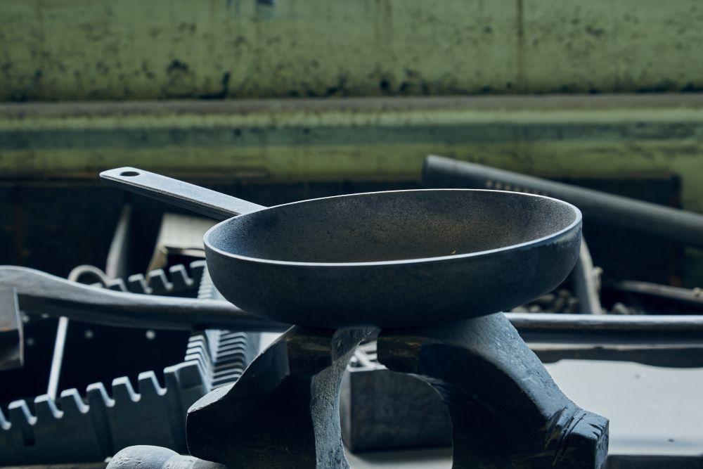 C3 Frying Pan by Crane Cookware