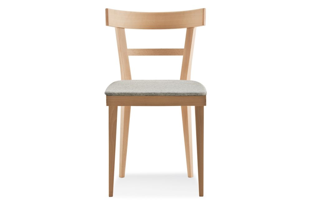 Cafe 460 Dining Chair, Upholstered - Set of 2 by Billiani