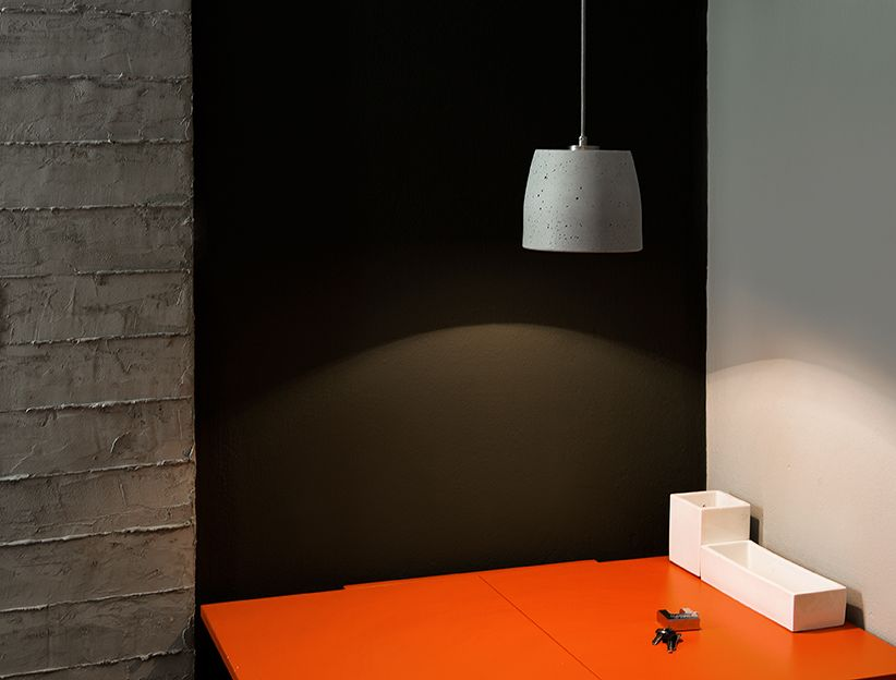 Calix 18 Concrete Pendant Light from URBI ET ORBI