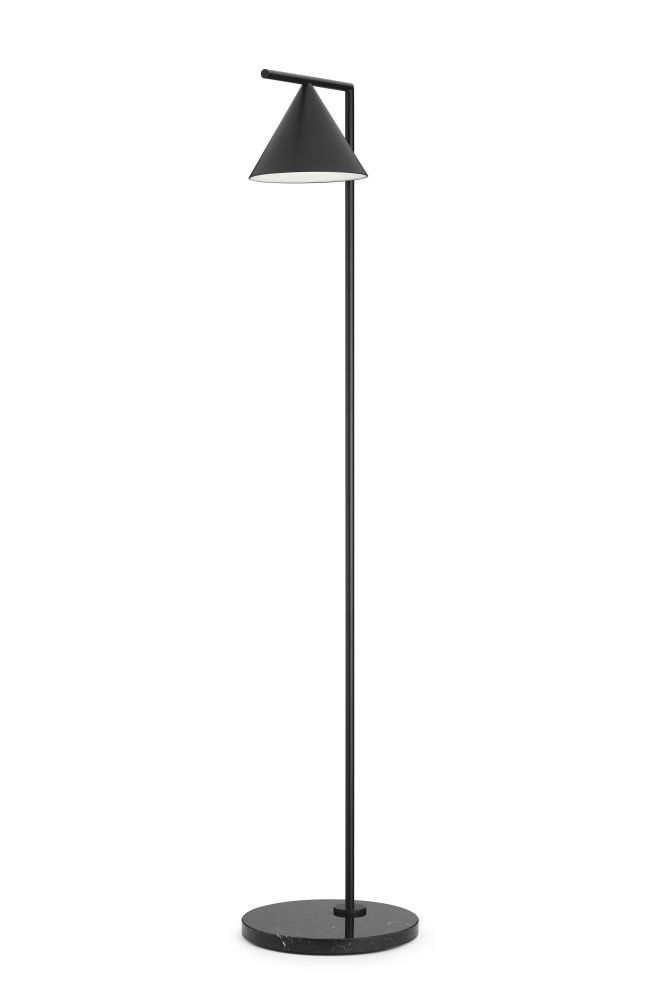 Captain Flint Floor Lamp Brushed Brass by Flos | Clippings