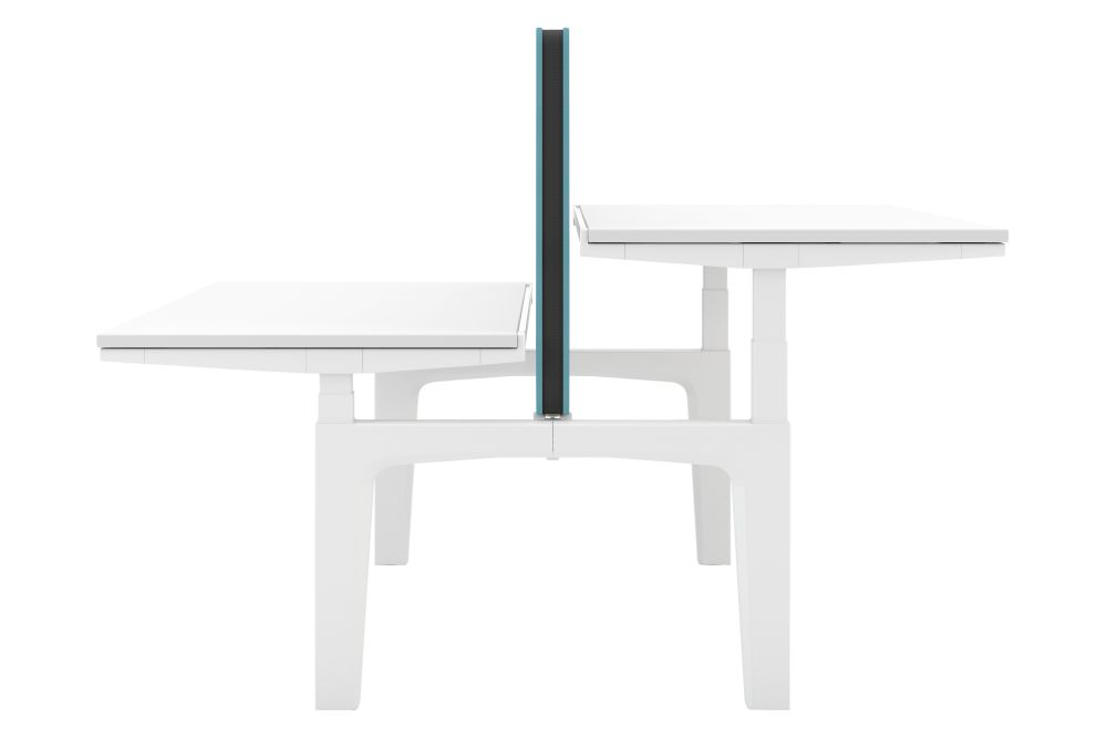 Melamine Soft light, None, No, No screen,Vitra,Office Tables & Desks
