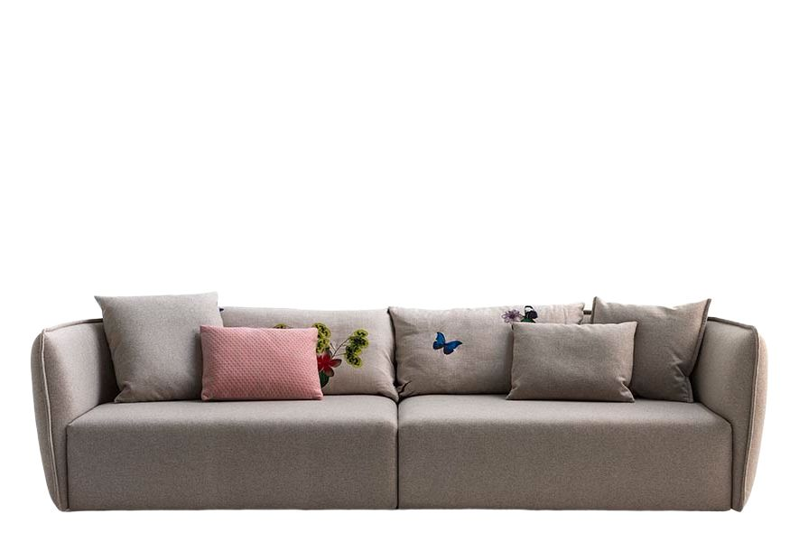 Chamfer 3 Seater Sofa by Moroso