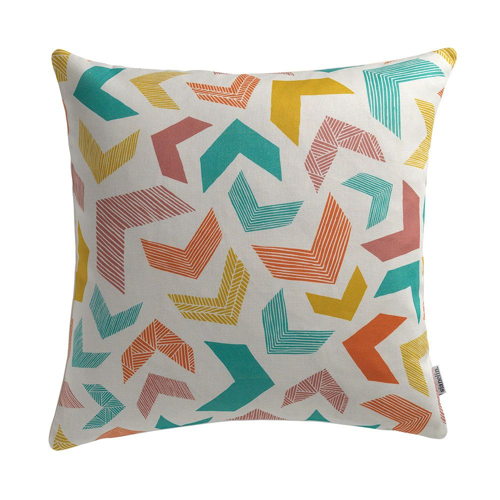 Chevrons Cushion by Sian Elin