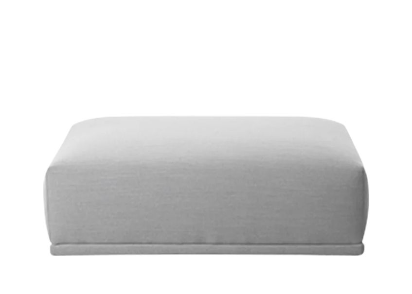 Connect Modular Sofa - Long Ottoman by Muuto