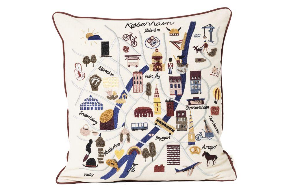 Offwhite,ferm LIVING,Cushions
