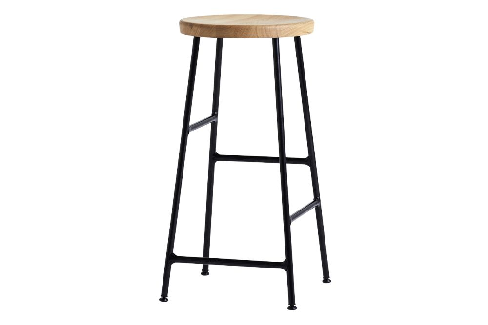Cornet Bar Stool Low by Hay