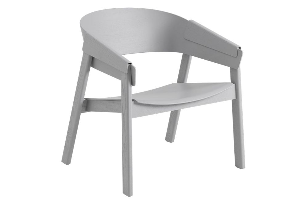 Cover Lounge Chair Wood Base by Muuto