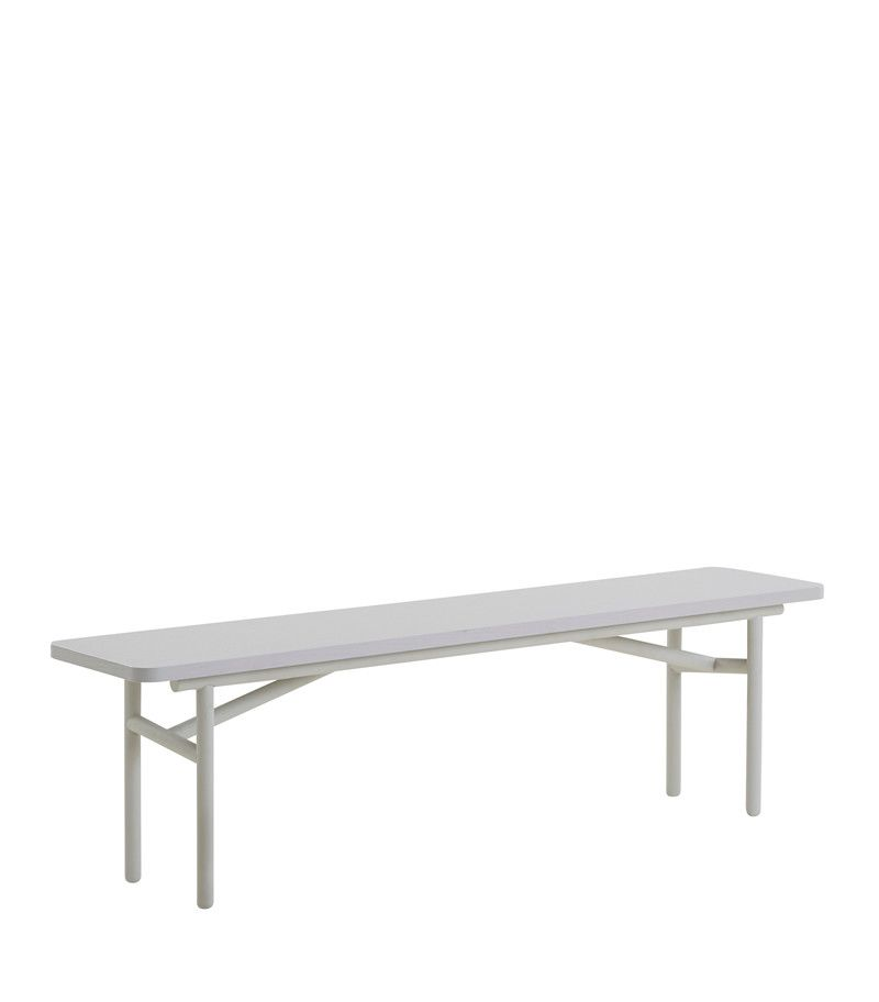 Diagonal bench by WOUD