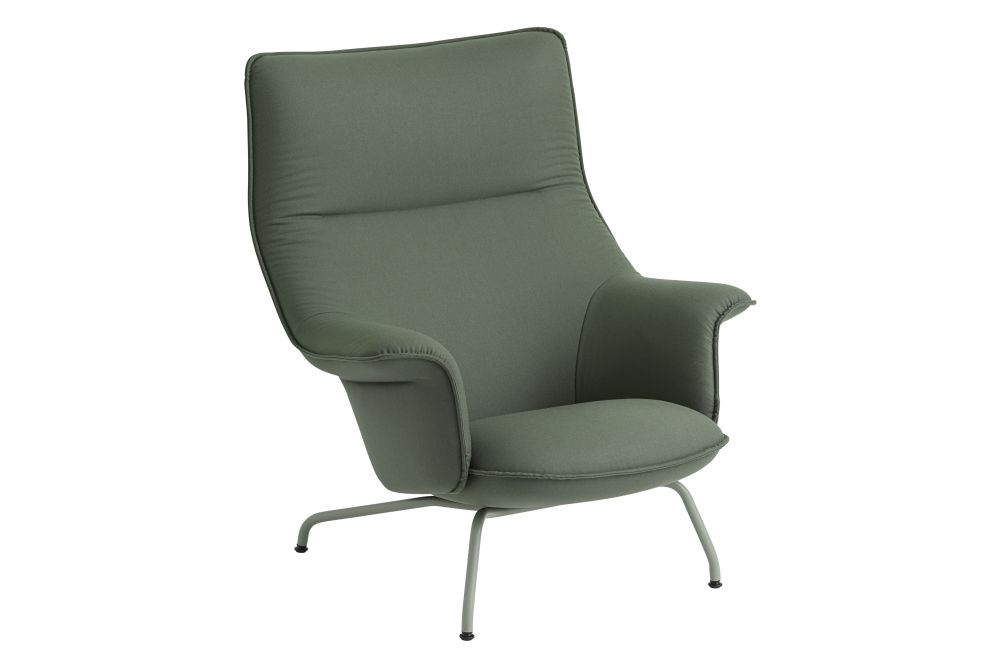 Fiord, Metal Chrome,Muuto,Lounge Chairs