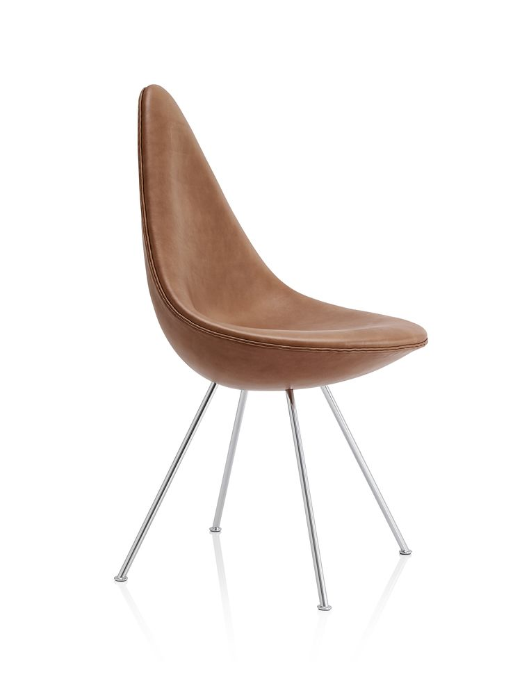 Drop Fully Upholstered Chair by Fritz Hansen