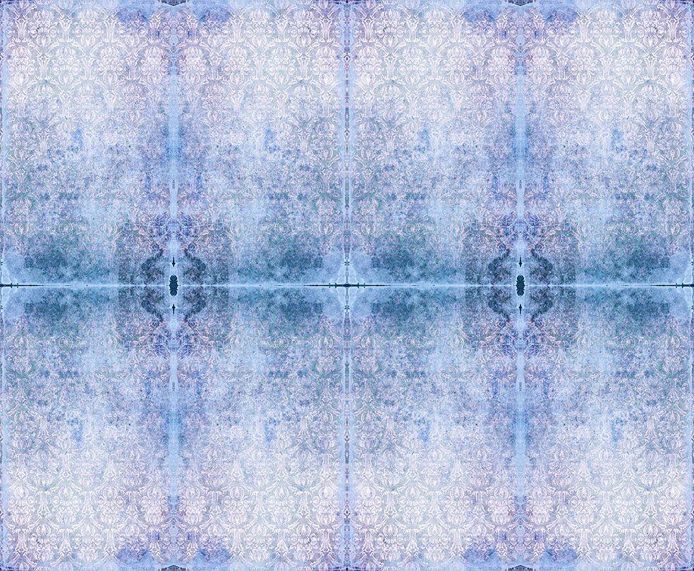 Duprez Misty Blue Wallpaper by Blackpop