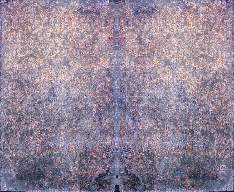 Duprez Vintage Violet Wallpaper by Blackpop