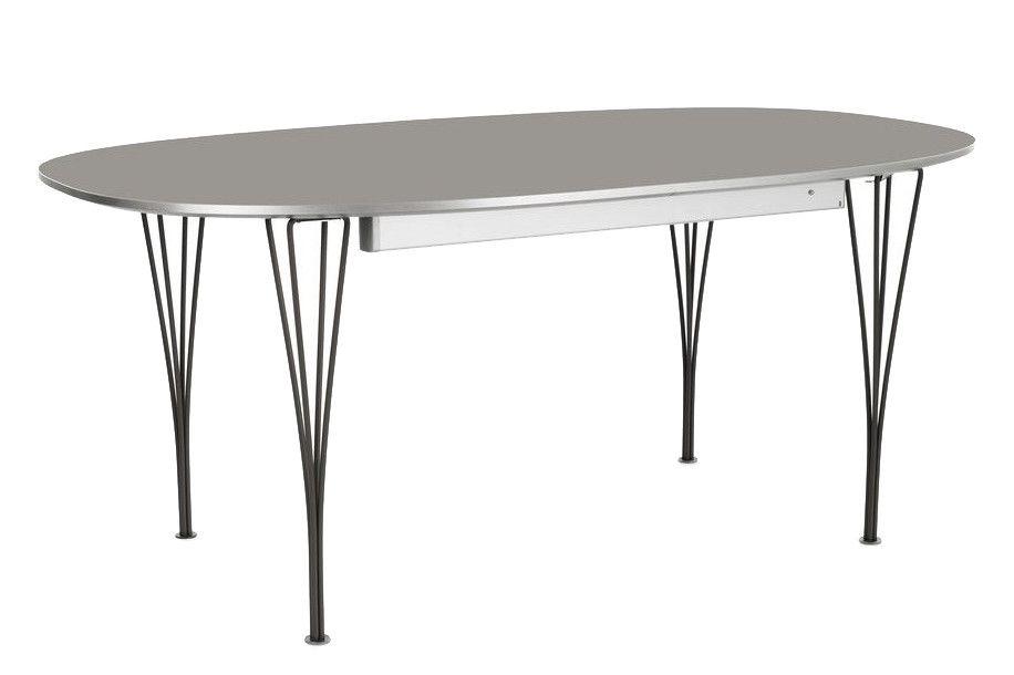 Laminate Standard Colour White 100 x 170/270 Grey,Fritz Hansen,Dining Tables