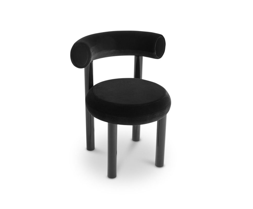 Fat Black Cassia 09 Dining Chair by Tom Dixon
