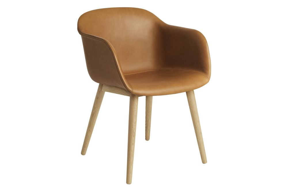 Endure Leather, Oak,Muuto,Armchairs