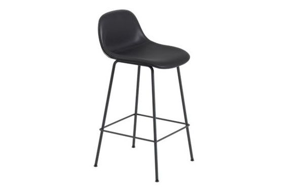 Metal White, Endure Leather, 65,Muuto,Stools