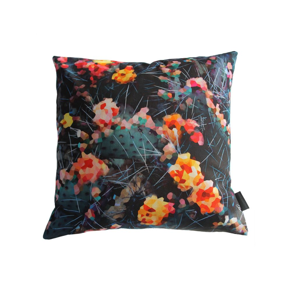 Fierce Beauty Square Cushion by Parris Wakefield Additions