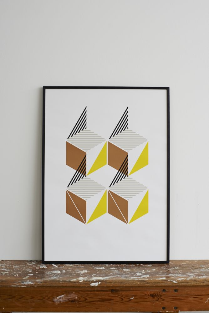 Flying Toy Box Screen Print by Lane