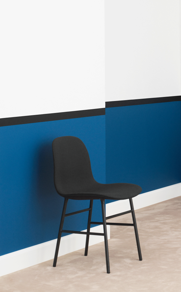 Form Chair Full Upholstery - Steel Legs by Normann Copenhagen