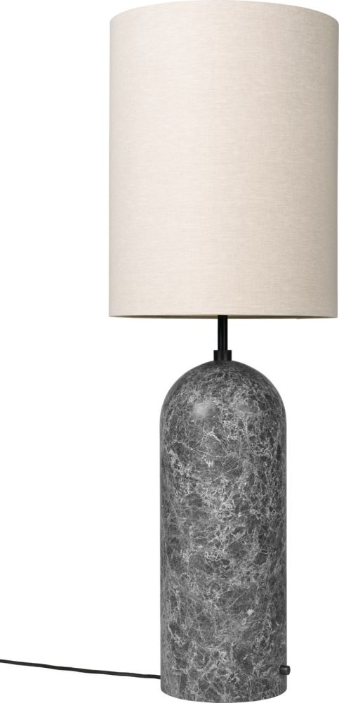 130, Canvas, White Marble,GUBI,Floor Lamps